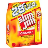 Walmart: Slim Jim Original Smoked Snack Sticks, 0.28 oz, 28 count
