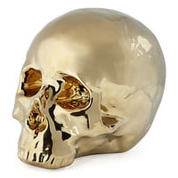Morton Skull Head | Chic, Gold Decorative Skull | Z Gallerie