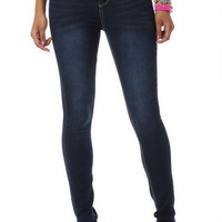 Double-Button High-Waisted Jegging