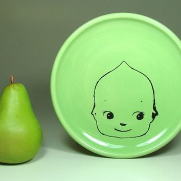 little plate kewpie cabeza - Made to Order / Pick Your Colour