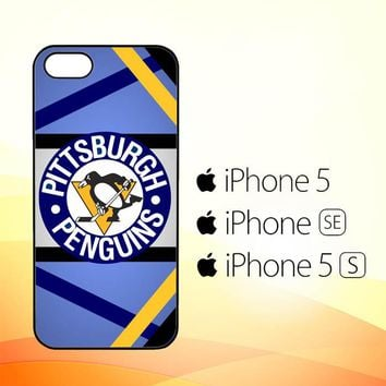 pittsburgh penguins logo R0086a  iPhone 5|5S|SE Case