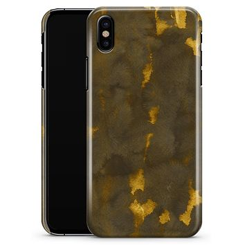 Golden Giraffe Pattern V2 - iPhone X Clipit Case