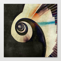 LABYRINTHUS Stretched Canvas by hardkitty