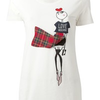 Love Moschino Contrasting Panel T-shirt - Twist'n'scout - Farfetch.com