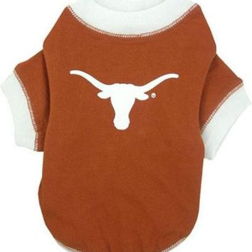 ESBHJ2 Texas Longhorns Pet Shirt SM