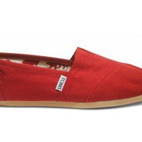 Red Canvas Women's Classics
