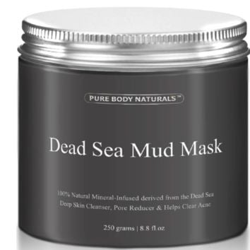 Dead Sea Mud Mask Facial Treatment 8.8 fl oz Cleanser Soother for all Skin Types