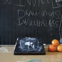 Chalkboard Pad by Peg and Awl