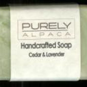 Hand Made Alpaca Soap