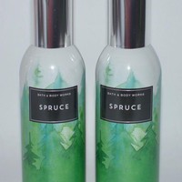 2 Bath & Body Works SPRUCE Room Spray 1.5 oz