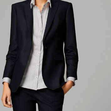 NAVY BLUE SUIT JACKET - View all - Blazers - WOMEN - United States
