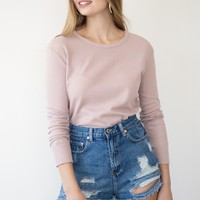 Kaia Top - Mauve