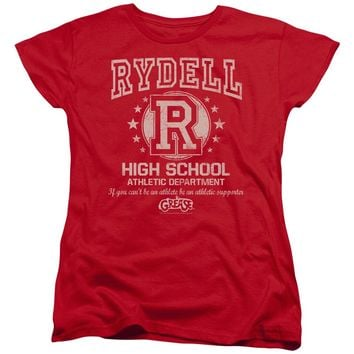 Grease - Rydell High Short Sleeve Women's Tee