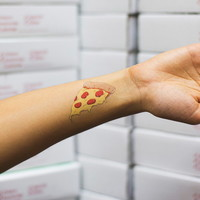 Tattly Pizza Slice Tattoo