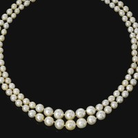 Natural pearl necklace composed of one hundred and twenty natural pearls | Lot | Sotheby's