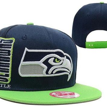ONETOW Seattle Seahawks 9FIFTY NFL Football Hat