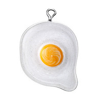 OVER EASY EGG ORNAMENT | Glass, Breakfast, Omelet, Sunny Side Up, Theo Keller | UncommonGoods