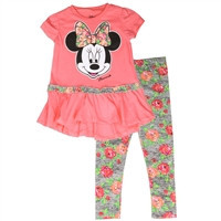 MINNIE MOUSE Girls Toddler 2PC-75p3017mis