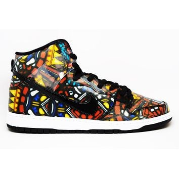 Nike Dunk High Premium Sb Stained Glass   Best Deal Online