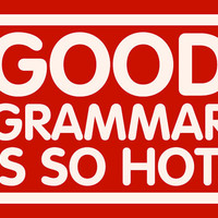 Good Grammar is so Hot T-Shirt For Women College Student Teenager Red Blue White Black