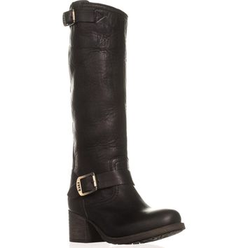 FRYE Vera Slouch Knee-High Boots, Black, 5.5 US