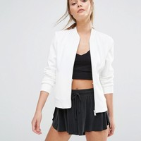 New Look Scuba Bomber Jacket at asos.com