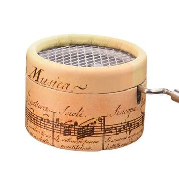 Hand-Cranked Random Songs Music box
