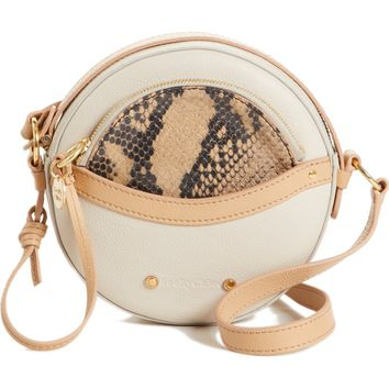 See by Chloé Rosy Mini Leather Crossbody Bag with Faux Snakeskin | Nordstrom