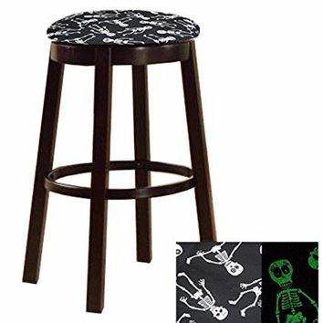 Swivel Bar Stool with Your Choice of a Themed Fabric Covered Cushion (Star Wars)