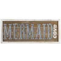 Meet Me At Mermaids Cove Wood Wall Art