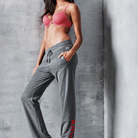 VS Logo Boyfriend Pant - Fleece - Victoria's Secret