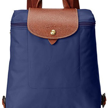 Longchamp Women's Le Pliage Sac À Dos Backpack, Navy