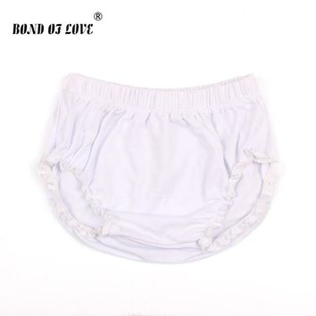 Hot Shorts Baby  Newborn Bloomers Baby Panties Solid Color Infant PP  Summer Beach Harem  Cotton Kids BloomerAT_43_3