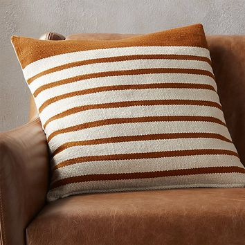 """20"""" division rust pillow"""