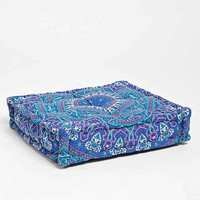Magical Thinking Blue Paisley Pillow- Blue One