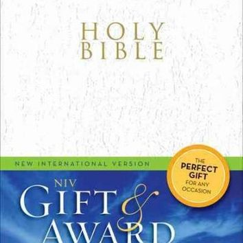 Holy Bible: New International Version, White, Leather-Look, Gift & Award Bible