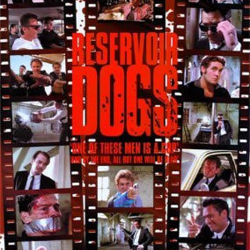 RESERVOIR DOGS QUENTIN TARANTINO POSTER FILM STRIPS