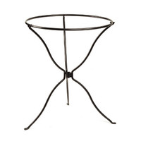 ACHLA Designs BBS-14 Tripod Wrought Iron Ring Stand