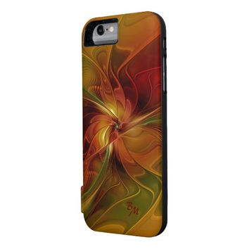 Warmth, Abstract Fractal Art iPhone 6 Case