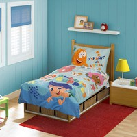 Bubble Guppies 4-pc. ''B is for Bubble Guppies'' Bedding Set - Toddler (Blue)