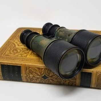 Antique Lemaire Fabricant Paris Binoculars Civil War Era