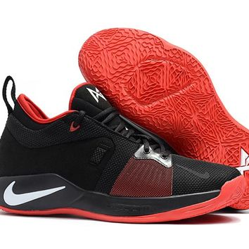Nike Zoom PG 2 EP Black/Red Basketball Shoes US 7-12
