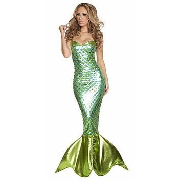 Adult Auquamarine Mermaid Halloween Costume