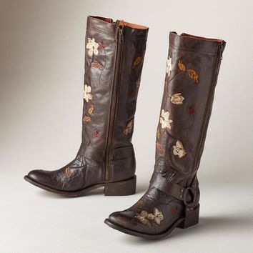 Anise Flower Boots