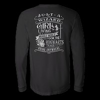 Harry Potter - JUST A WIZARD GIRL - Unisex Long Sleeve T Shirt - TL01096LS