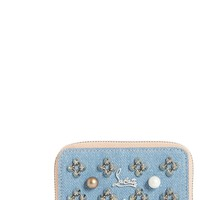 Christian Louboutin Panettone Denim Coin Purse | Nordstrom