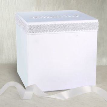Rhinestone Card Box 10in | Party City