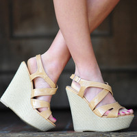 Talk About Tropical Wedges: Tan | Hope's