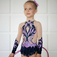 Rhythmic gymnastics leotard competition #ice skating competition#handmade