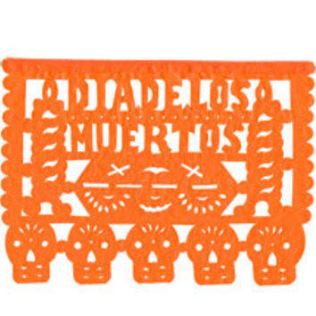 Day of the Dead Large Papel Picado